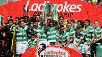 Fotbalistům Celticu chybí už pouze jediný zápas k tomu, aby jako první skotský tým od konce 19. století prošli celou prvoligovou sezónou bez porážky.