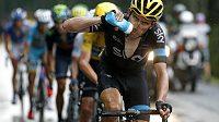 Velšský cyklista Geraint Thomas z týmu Sky má vysoký práh bolesti.