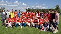 Čeští hráči bez angažmá vyhráli turnaj FIFPro