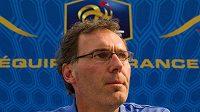 Trenér francouzských fotbalistů Laurent Blanc