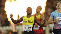 Jamajčan Omar Mcleod se stal mistrem světa na 110 m překážek.