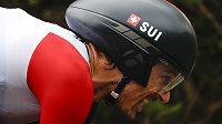 Švýcar Fabian Cancellara potvrdil v olympijské časovce roli favorita.