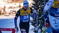 Michal Novák v závodě Tour de Ski v italské Val di Fiemme.