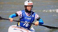 Kajakářka Amálie Hilgertová se v Pau ve Francii nečekaně stala mistryní Evropy ve vodním slalomu.