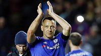 Legenda John Terry po letošní sezóně končí v Chelsea.