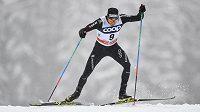 Švýcar Dario Cologna na Tour de Ski v Lenzerheide.