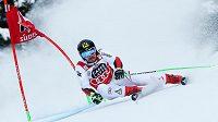Rakouský lyžař Marcel Hirscher v paralelním obřím slalomu v Alta Badii bral třetí místo.