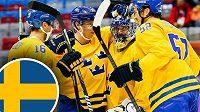 Hokejisté Švédska loni v Minsku porazili český tým v duelu o bronz.