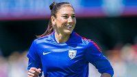 Bývalá hvězda fotbalové reprezentace USA Hope Solová