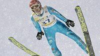 Německý skokan Richard Freitag vyhrál domácí závod SP v Oberstdorfu.