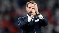 Poděkoval fanouškům i hráčům. Trenér anglických fotbalistů Gareth Southgate pak vzal na sebe plnou zodpovědnost za neúspěšný penaltový rozstřel ve finále mistrovství Evropy s Itálií.