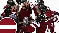 Hokejisté Lotyšska umějí porazit i elitní týmy, už pět let ale marně čekají na postup do vyřazovací fáze MS. Uspějí letos v Praze?