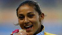 Brazilská sprinterka Ana Cláudia Lemosová neprošla dopingovou zkouškou.