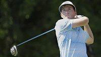 Americký golfista Russell Henley na turnaji Honda Classic.