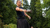 Lukáš Melich, pravidelný účastník skotských her.