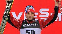 Norský běžec na lyžích Petter Northug.