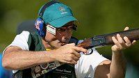 Dvojnásobný olympijský vítěz ve sportovní střelbě Michael Diamond.