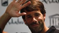 Sbohem fotbalové kariéře dává Nizozemec Ruud van Nistelrooij.