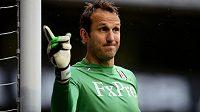 Brankář Mark Schwarzer ještě v dresu Fulhamu.