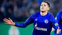 Záložník Schalke Amín Harít.