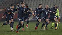 Skotská euforie začíná. Po 22 letech slaví Ostrované postup na velký turnaj.