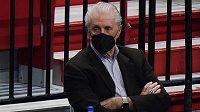 Prezident týmu Miami Heat Pat Riley.