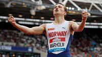 Karsten Warholm na mítinku Diamantové ligy v Londýně vylepšil vlastní evropský rekord na 400 m překážek.