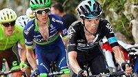 Leopold König (vpravo) na letošní Tour de France startovat nebude