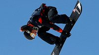 Valentino Guseli vyletěl ve švýcarském Laaxu při jízdě v U-rampě do výšky 7,3 metru
