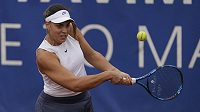 Velký návrat! Chorvatská tenistka Ana Konjuhová v akci na pražské Štvanici.