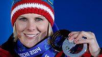 Rakouská lyžařka Nicole Hospová