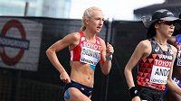 Ilustrační foto. Eva Vrabcová-Nývltová na trati maratónu v Londýně.