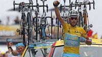 Vincenzo Nibali je krůček od celkového vítězství na Tour de France.