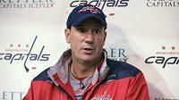 Todd Reirden povede jako hlavní kouč hokejisty Washingtonu Capitals