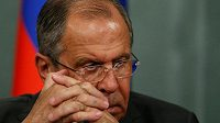 Ruský ministr zahraničních věcí Sergej Lavrov.