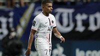 Další z hvězd Paris St. Germain Kylian Mbappé nosí dres s číslem 7.