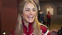 Norská běžecká hvězda Therese Johaugová má znovu důvod k úsměvu.