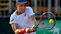 Zsombor Piros české tenisty během Davis Cupu hodně trápil