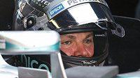 Vítěz kvalifikace Velké ceny Španělska F1 Nico Rosberg.