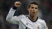 Cristian Ronaldo se raduje z gólu.