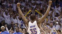 Největší hvězda basketbalistů Oklahomy Kevin Durant