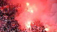 Fanoušci Slavie (ilustrační foto)