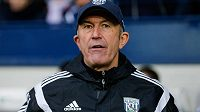 Manažer fotbalistů West Bromwich Albion Tony Pulis.