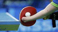 Stolní tenis na paralympijských hrách - ilustrační foto.