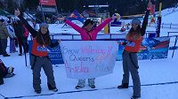 Mistrovství republiky ve volejbalu na sněhu zná první vítězky.