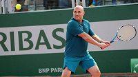 Andre Agassi nyní na kurtech radí Grigoru Dimitrovi.