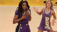 Venus Willimasová si zpestřila den tanečkem při zápase NBA.