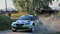 Už jistý evropský šampión Jan Kopecký (na trati Barum rallye) v Itálii nestartoval.