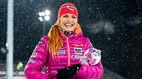 Gabriela Soukalová má už jistou trofej za celkové prvenství ve sprintu SP.