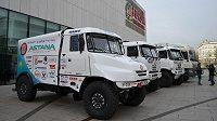 Tým Bonver Dakar Project představil při slavnostním odjezdu na Rally Dakar 2014 nový stroj Tatra Jamal.